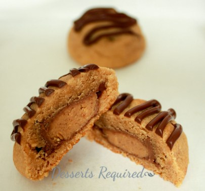 Peanut Butter Surprise Cookies