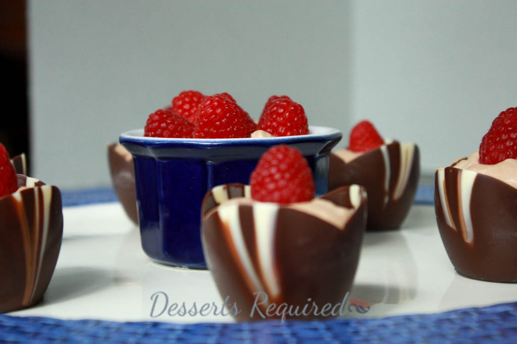 Desserts Required's Tiramisu Cream Cups have the creaminess of the original tiramisu but with two unusual twists; no ladyfingers and a lovely addition of chocolate liqueur!