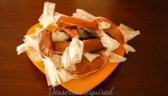 Desserts Required Kahlua Caramels
