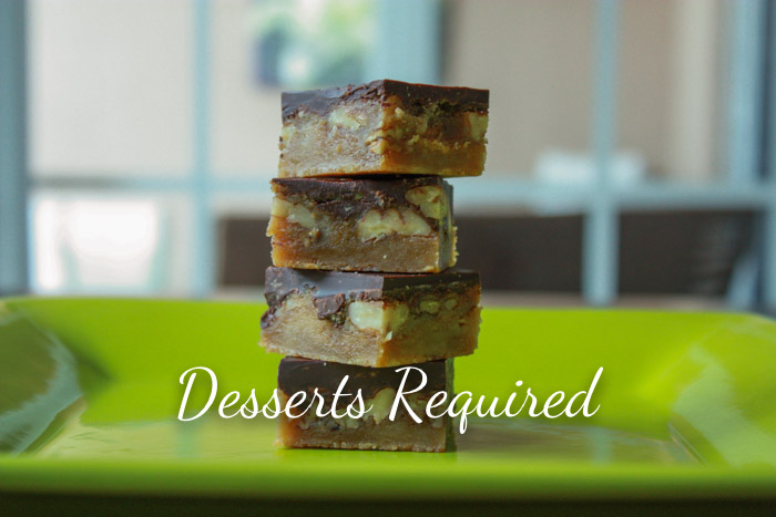 Desserts Required - Butter Pecan Turtle Bars