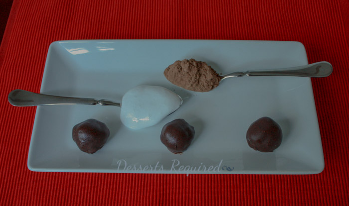 Desserts Required - Cocoa Marshmallow Cookie Dough Truffles