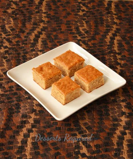 Desserts Required - Banana, Honey Nut Peanut Butter, Caramel Bars