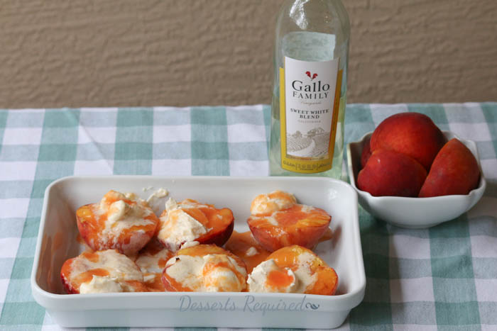 Desserts Required - Grilled Peaches  #SundaySupper