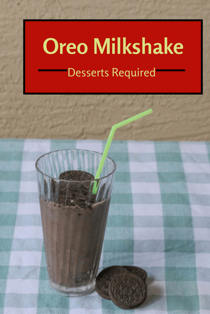 Desserts Required - Oreo Milkshake