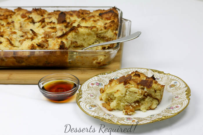 Desserts Required - Apple Challah Baked French Toast