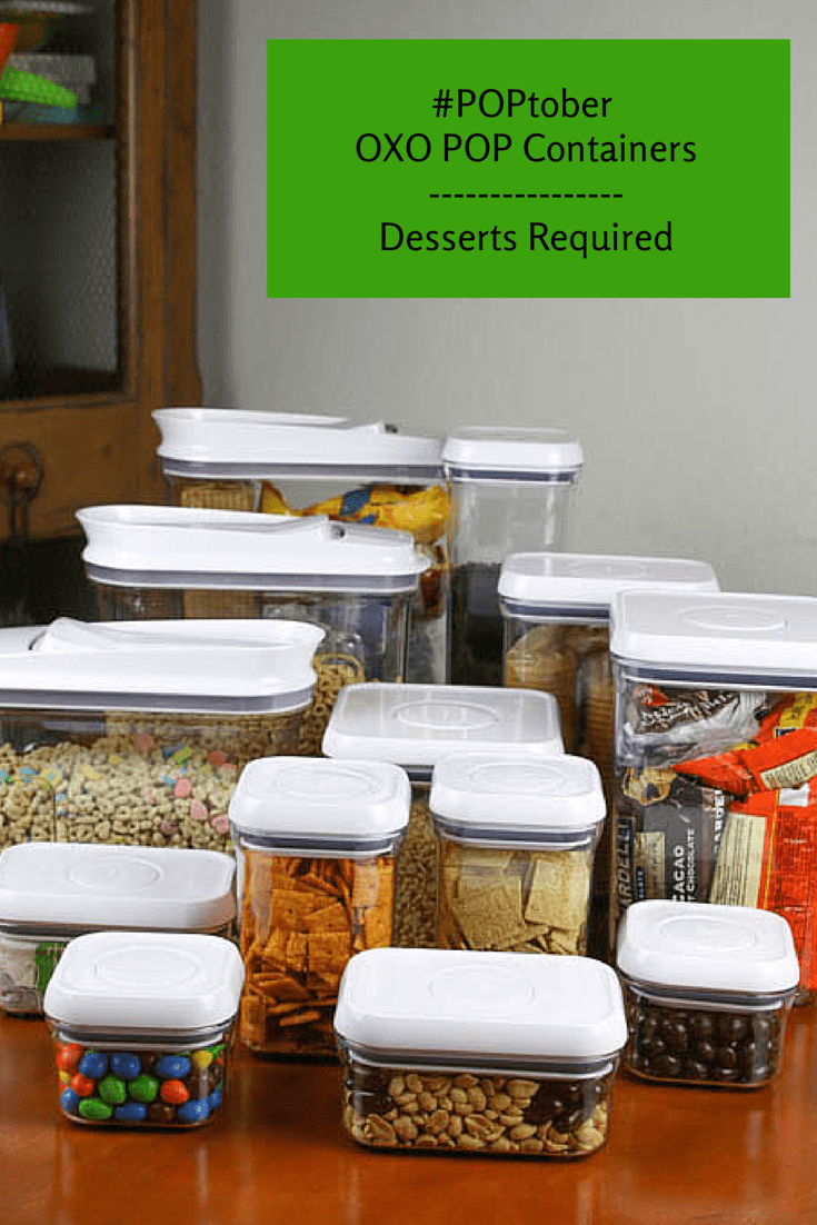 Desserts Required - #POPtober OXO POP Containers