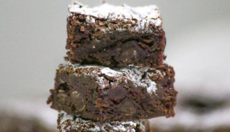 Chocolate Cranberry Brownies
