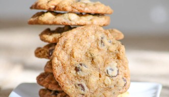 Chocolate Orange Oatmeal Cookies and a Christmas Week Giveaway