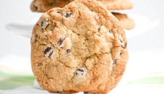 Jumbo Chocolate Chip Walnut Cookies  #SundaySupper