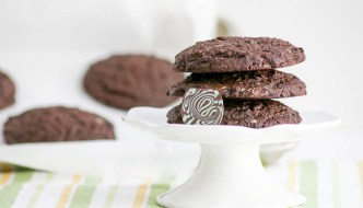Jumbo Chocolate Mint Cookies are packed with chocolatey goodness. The chocolate mint candies add a decadent flavor and gorgeous color.