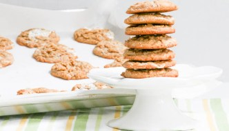 Peanut Butter Marshmallow Cookies could almost be categorized as candy but with the pizzazz of a cookie. Your family will love you for making a batch!
