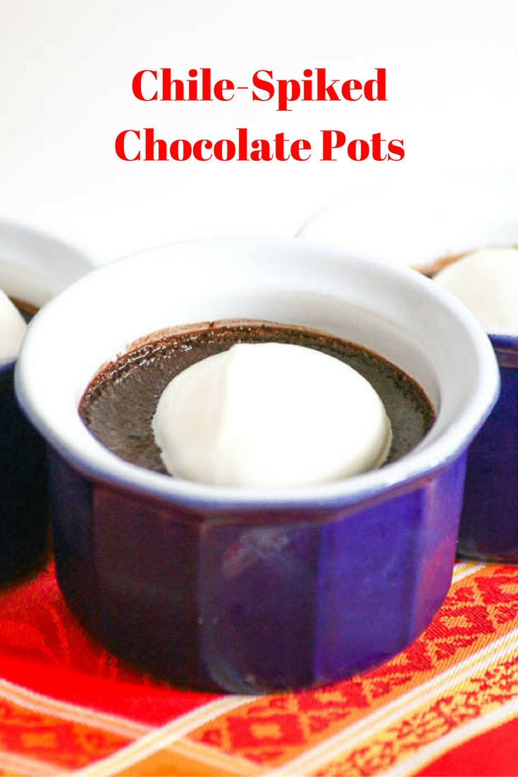 Chile-Spiked Chocolate Pots are a decadent way to spice things up a bit in the kitchen, thanks to Judith Finlayson's fab recipe!