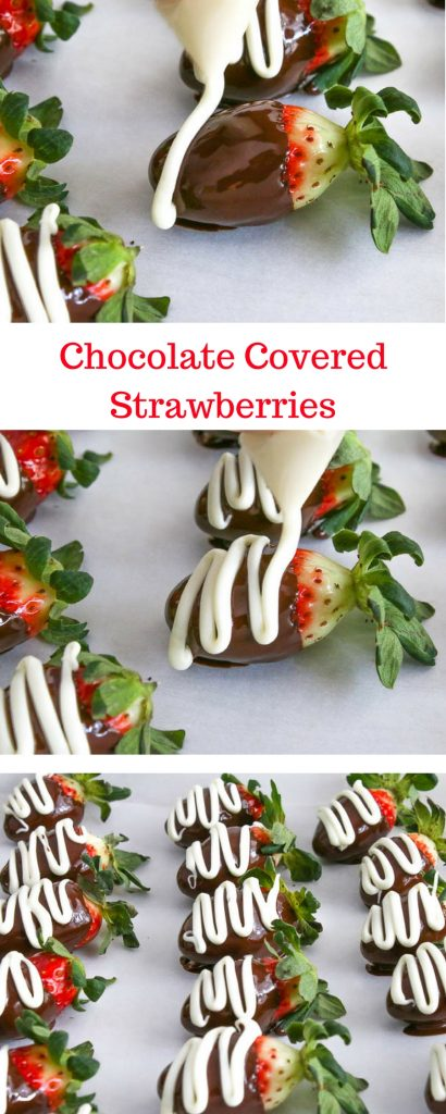 Chocolate Covered Strawberries are in season which means we are all in for a very happy holiday season. Serve them at parties or enjoy them for a snack!