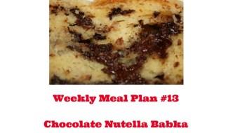 Weekly Meal Plan #13