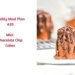 Weekly Meal Plan #20