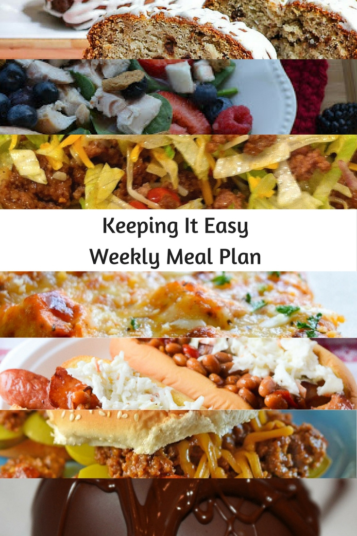Weekly Meal Plan #21