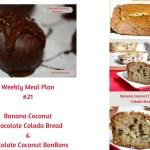 Weekly Meal Plan #21