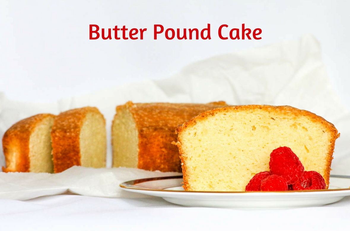 Butter Pound Cake is delicious when eaten by itself but also terrific topped with ice cream or served with berries.Perfect to give for the holidays, too.