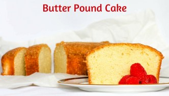 Butter Pound Cake is delicious when eaten by itself but also terrific topped with ice cream or served with berries. Perfect to give for the holidays, too.