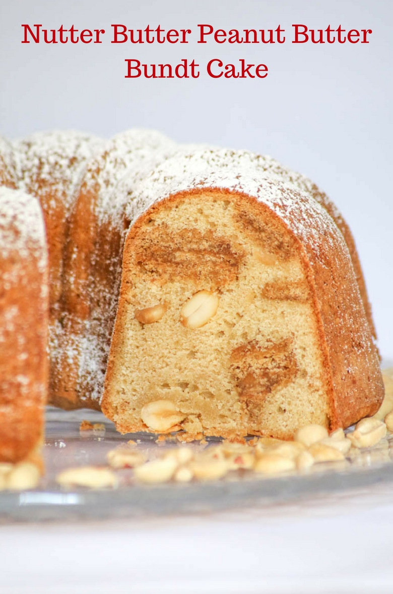 Nutter Butter Peanut Butter Bundt Cake - Desserts Required