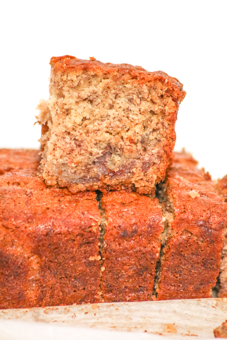 Banana and Jelly Bread is a delicious twist on a traditional bread. Best of all, the ingredients are easily available and probably already in your house!