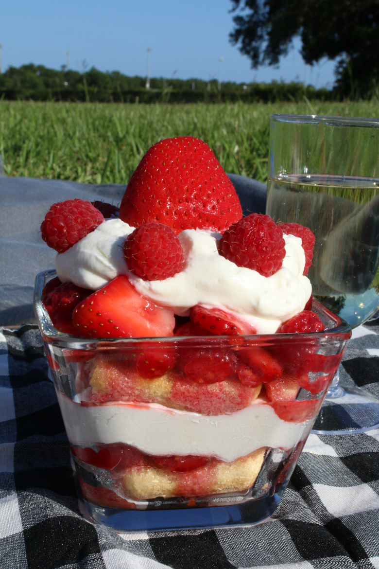 Individual Berry Trifles are perfect to take on a picnic or serve after a summer meal. They are refreshing and easy to make, too!