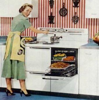 Piano de cuisson 1950