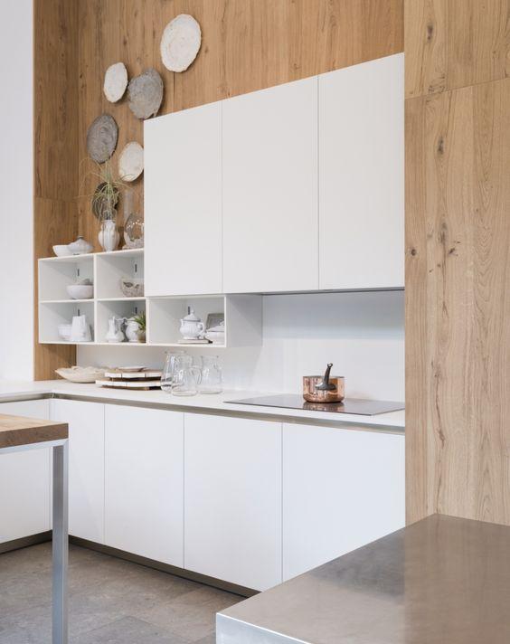 cuisine façades fenix blanche
