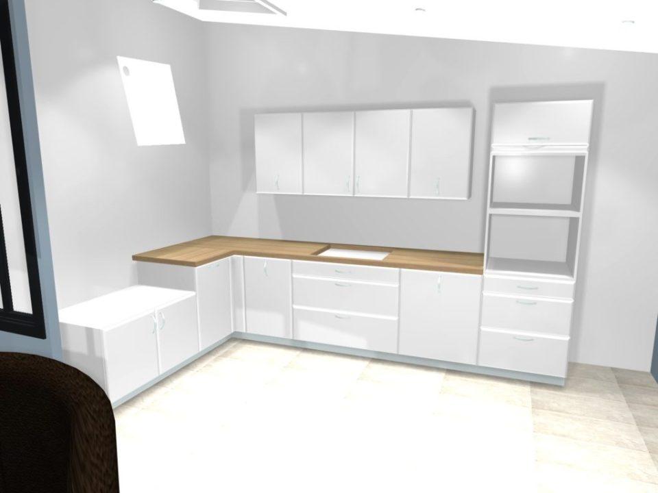 Je veux faire des travaux dans ma cuisine pose