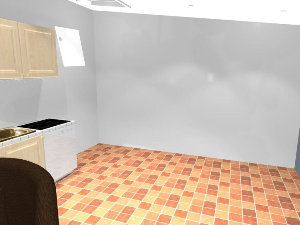 Je veux faire des travaux dans ma cuisine murs