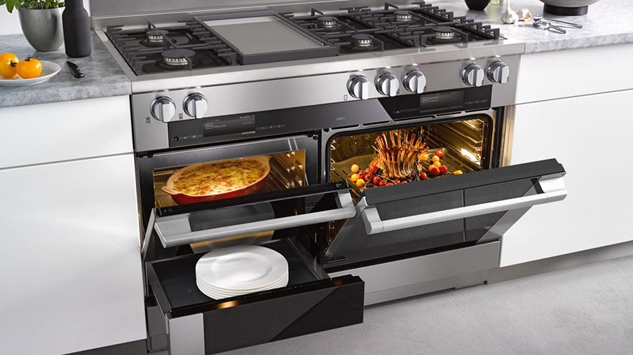 piano de cuisson miele fours multiples