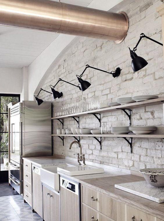 habiller sa cuisine de lumière les appliques lumineuses pour un style industriel