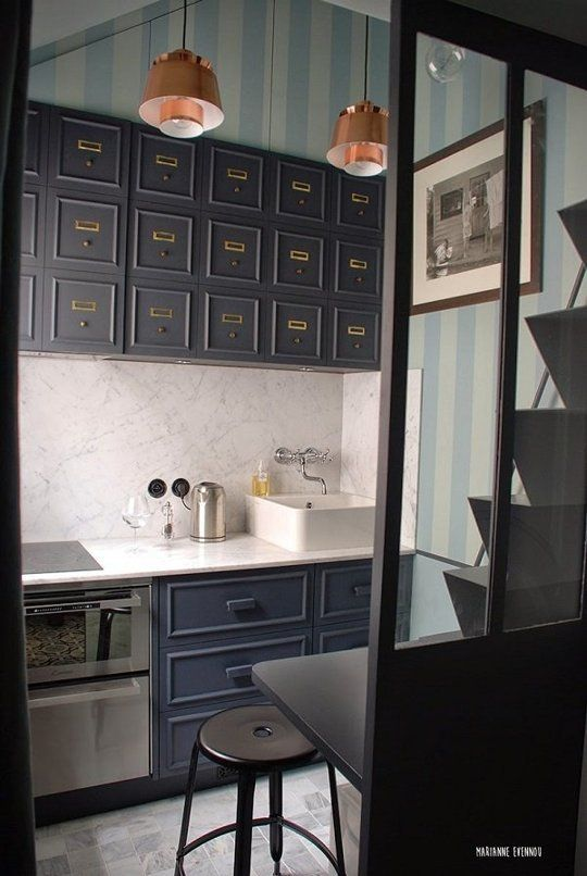 petite cuisine studio de 11m²