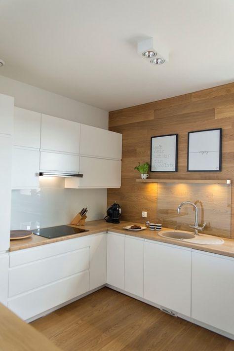 cuisine blanc et bois