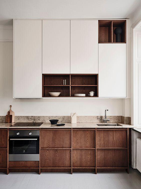 meubles hauts de cuisine en bi matière