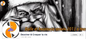 Dessiner & Croquer la vie sur Facebook