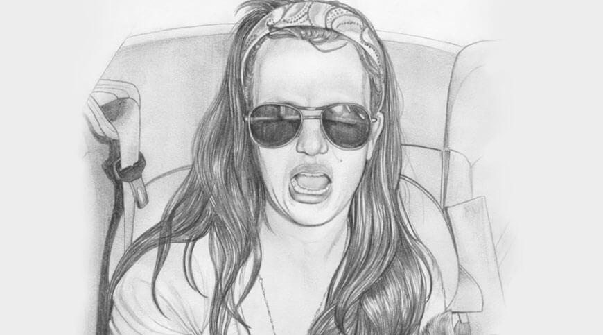 Vos premiers pas pour dessiner un visage les cheveux blog - Comment dessiner une star ...