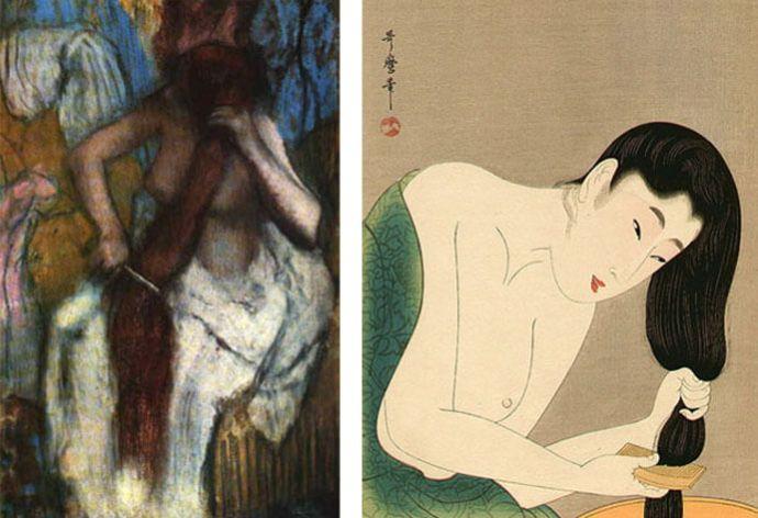 Degas_Utamaro-Kitagawa