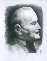 dessin au granite de Wielemans inspiration d'un concours sur les frères Wielemans qui a eu lieu sur Signus
