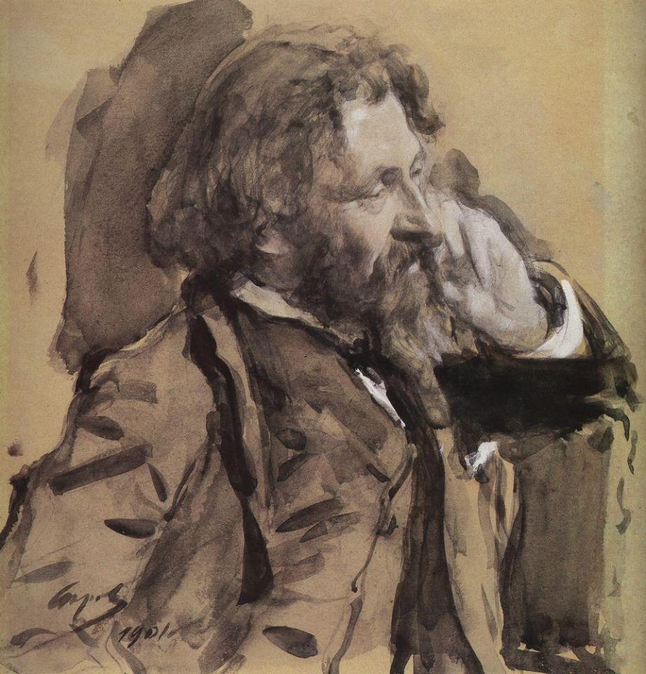 autoportrait Ilya Repin