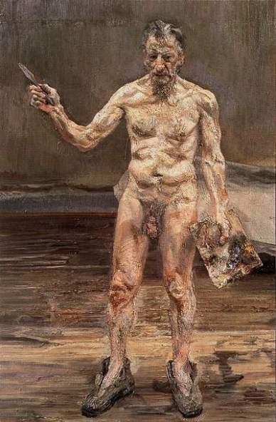 Autoportrait de Lucian Freud (1993)