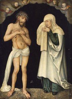 Christ et Veirge de Lucas Cranch le vieux -16e s