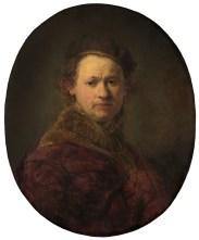 Rembrandt - Autoportrait 1645