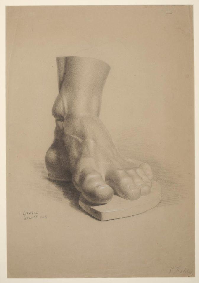 Etude de pied