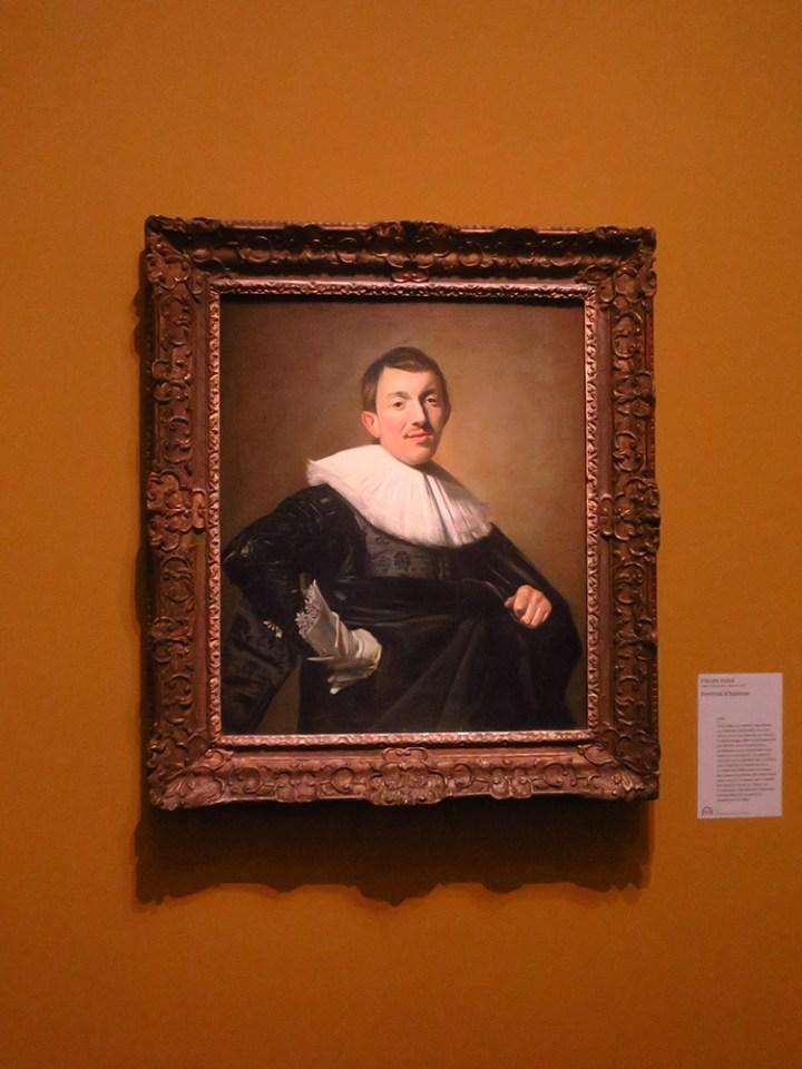 portrait, peinture hollandaise, 17eme siècle,