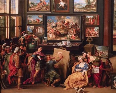 Scene principale du tableau