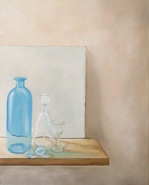 peinture, still life , verre