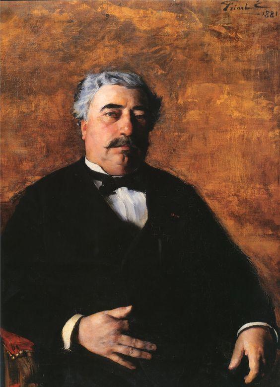 Portrait de M. Sidrot de Friant