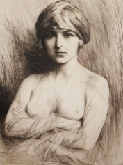 femme au turban d'E. Friant
