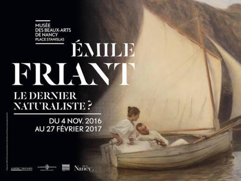 Affiche exposition Emile Friant